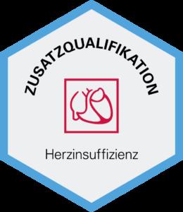 Logo Zusatzqualifikation Herzinsuffizienz